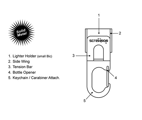 lighter-holder-outline