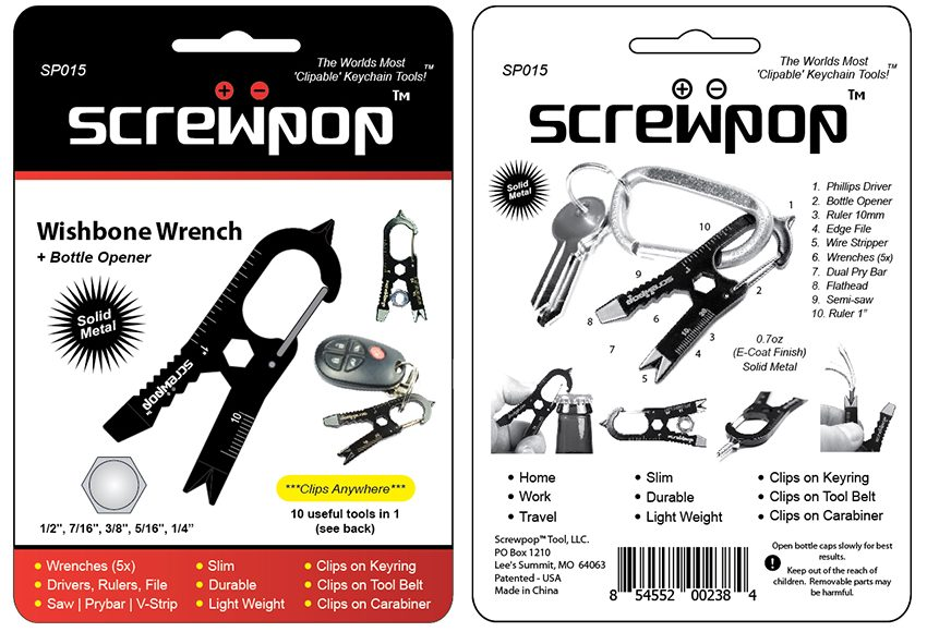 Screwpop - Wishbone Wrench (SP015)